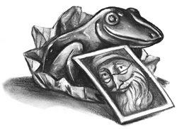Chocolate Frog Cards book
