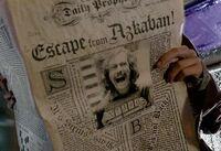 Syriusz Black ucieka z Azkabanu