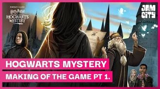 The Making of Harry Potter Hogwarts Mystery Pt. 1