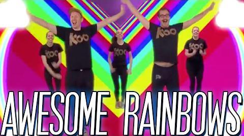 Koo Koo Kanga Roo - Awesome Rainbows- Dance-A-Long Video