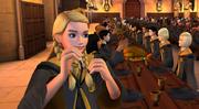 Penny Haywood i storsalen på galtvort