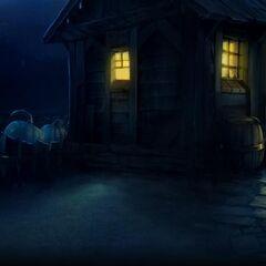 Визит в хижину на Pottermore