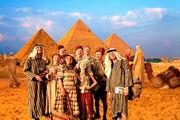 Famille Weasley en Egypte