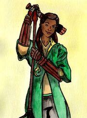 Gwenog Jones Chocofrog by Menanie605