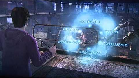 Harry Potter and the Deathly Hallows Gameplay 2 - E3 2010