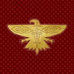 PM Ilvermorny House Crest Thunderbird