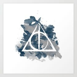 The-deathly-hallows-ravenclaw-prints