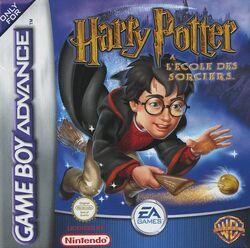 Harry Potter à l'école des sorciers GBA (recto)