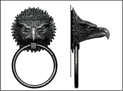 Eagle door knocker  sc 1 st  Harry Potter Wiki - Fandom & Eagle door knocker | Harry Potter Wiki | FANDOM powered by Wikia