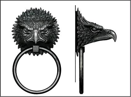 Ordinaire Eagle Door Knocker