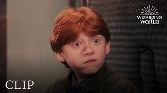 """Oculus Reparo"" Hermione Fixes Harry's Glasses Harry Potter and the Philosopher's Stone"