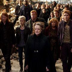 Семья Уизли в Битве за Хогвартс