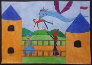 Turniej Trójmagiczny - atak żmijoptaka na dyrektorów szkół