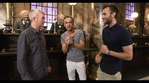 Behind the Bricks A Tour of Diagon Alley™ with Tom Felton and Matthew Lewis Replay