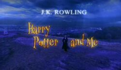 Harry Potter and Me