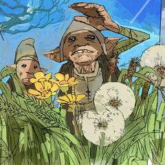 Садовые гномы (концепт-арт) к «Тайной комнате»