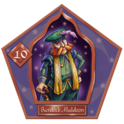 Burdock Muldoon-10-chocFrogCard