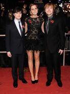 Daniel Radcliffe + Emma Watson + Rupert Grint