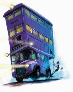 HP Prisoner of Azkaban back cover - Knight Bus