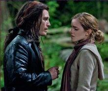 Hermione and Scabior