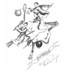 JKR Quidditch illustration