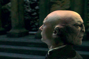 Quirrell associé à Voldemort