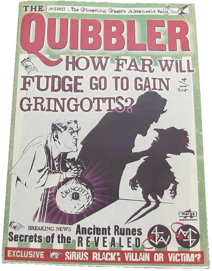 graphic relating to Printable Quibbler called The Quibbler posts Harry Potter Wiki FANDOM run