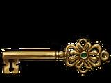 Gringotts vault key