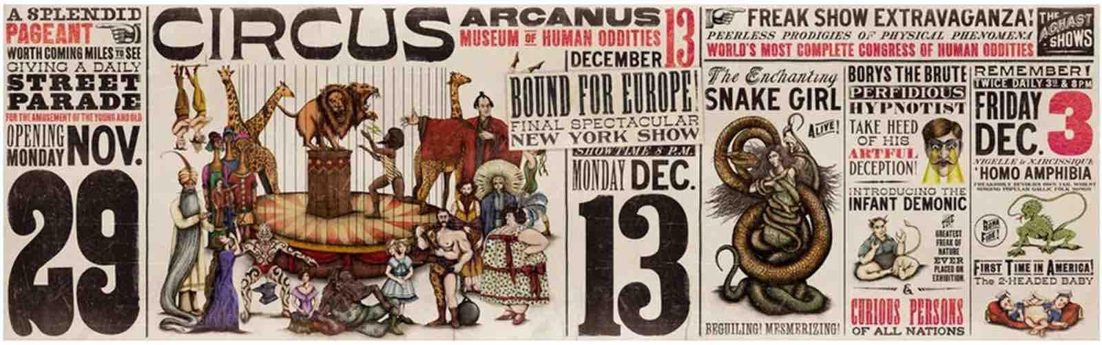 Le Cirque Arcanus poster