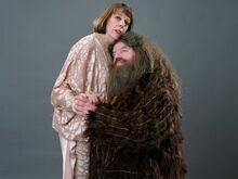 Rubeus Hagrid z Olimpią Maxime