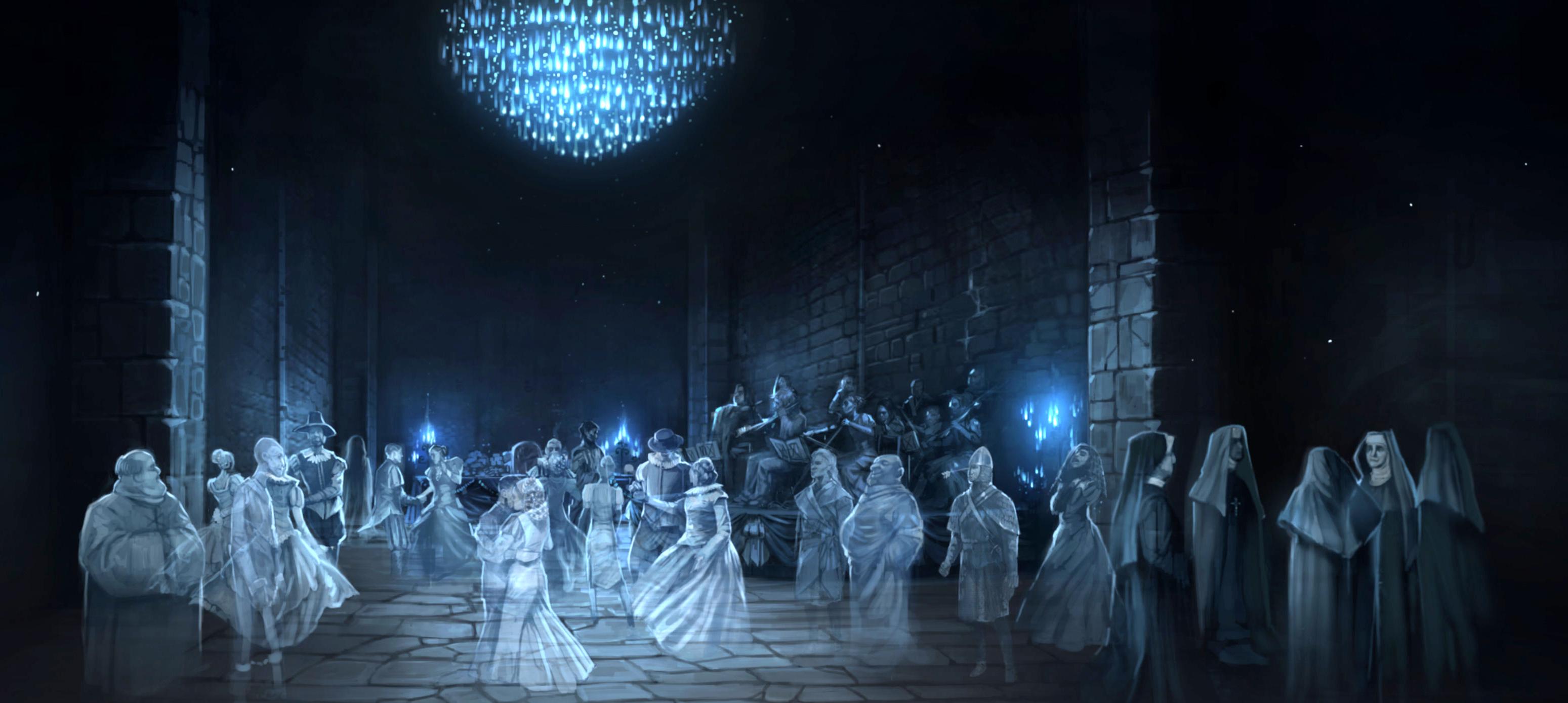 Image result for hogwarts ghost