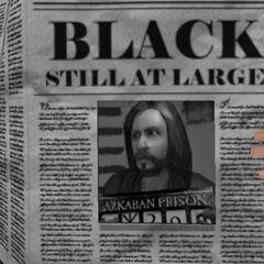 «Сириус Блэк всё еще на свободе»