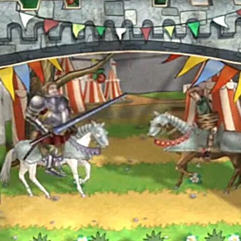 Граф сражается против Эдмунда