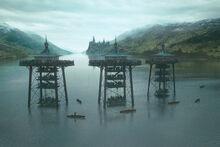 Чёрное озеро во время Турнира Трёх Волшебников