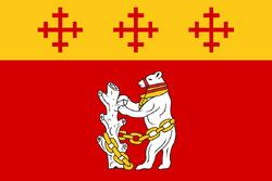 Flag of Warwickshire (900px)