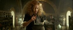 Hermione brewing Draught of Living Death