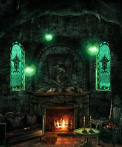 Slytherin common room2