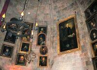 Dumbledore's office portraits