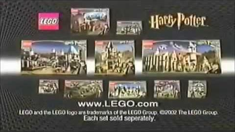 2002 Lego Harry Potter Commercial