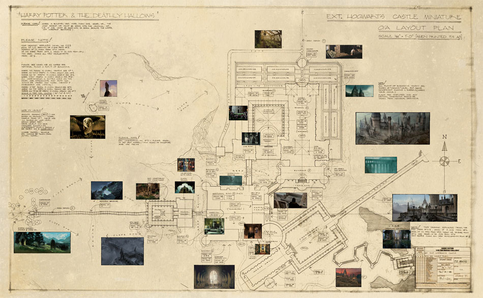 Image gallery blueprint large 001g harry potter wiki gallery blueprint large 001g malvernweather Image collections