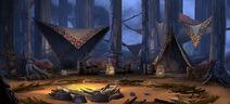 Hogwarts Mystery Centaur Camp Concept Art