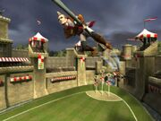Coupe du monde de Quidditch jeu - Stade Angleterre