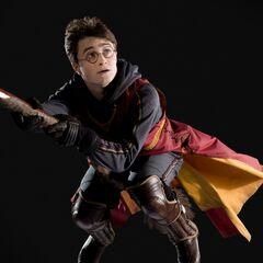 Гарри летит на «Молнии»