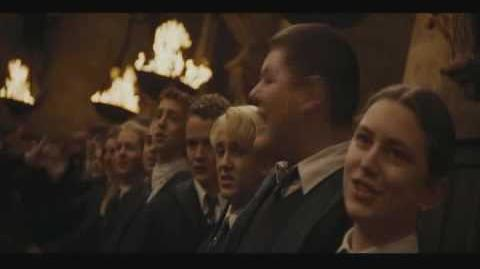 Harry Potter and the Goblet of Fire Deleted Scene Hogwarts School Song