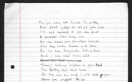 The Sorting Hat Song by J.K. Rowling. An extract of an original draft JKR writing Sorting Hat British Library draft