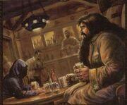 Hagrid et l'étranger