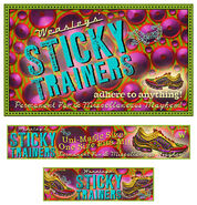 MinaLima Store - Sticky Trainers from Weasleys' Wizard Wheezes