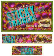 MinaLima Store - Sticky Trainers from Weasleys' Wizard Wheezes