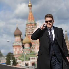 Брана в Москве на съёмках