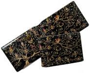 MinaLima Store - Black Family Tapestry Card Holder